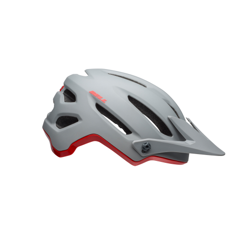Kask rowerowy mtb BELL 4FORTY cliffhanger matte gloss gray crimson
