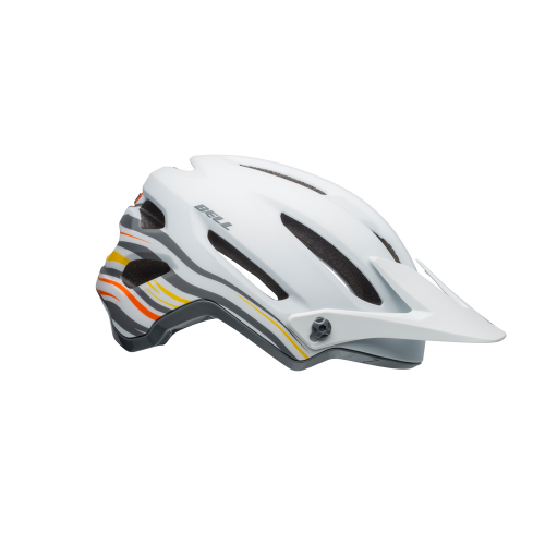 Kask rowerowy mtb BELL 4FORTY rush matte gloss white orange