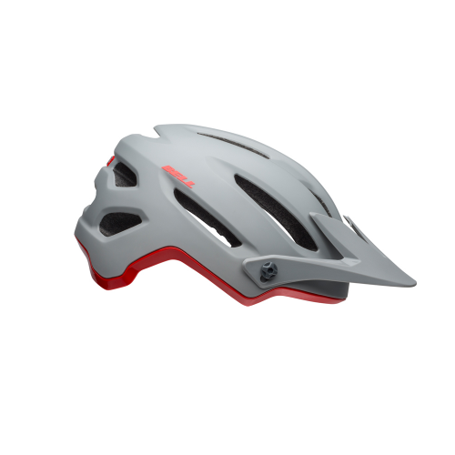 Kask rowerowy mtb BELL 4FORTY INTEGRATED MIPS cliffhanger matte gloss gray crimson