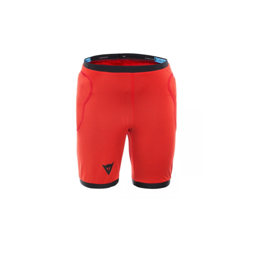 DAINESE SCARABEO SAFETY SHORTS - BLACK/RED
