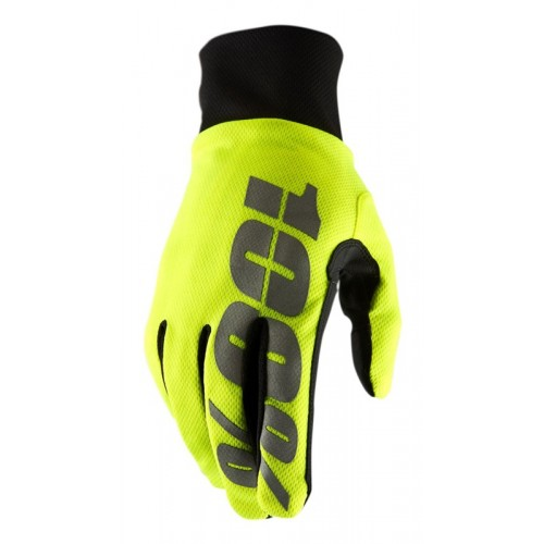 Rękawiczki 100% HYDROMATIC Waterproof Glove neon yellow