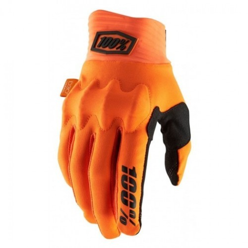 Rękawiczki 100% COGNITO Glove fluo orange black NEW