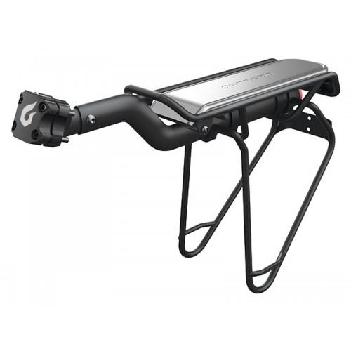Bagażnik tylny BLACKBURN INTERLOCK na sztycę 22-32mm do 10kg szyfr czarny (DWZ)