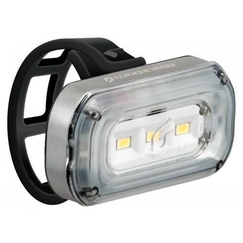 Lampka przednia BLACKBURN CENTRAL 100 USB, 100 lumenów srebrna (DWZ)
