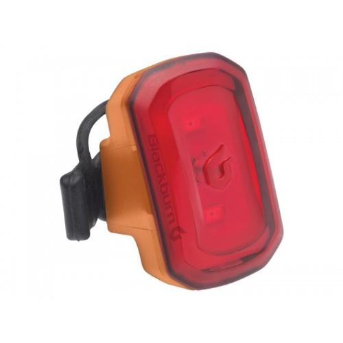 Lampka tylna BLACKBURN CLICK USB 20 lumenów pomarańczowa (DWZ)