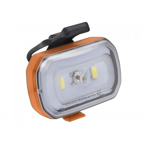 Lampka przednia BLACKBURN CLICK USB 60 lumenów pomarańczowa (DWZ)