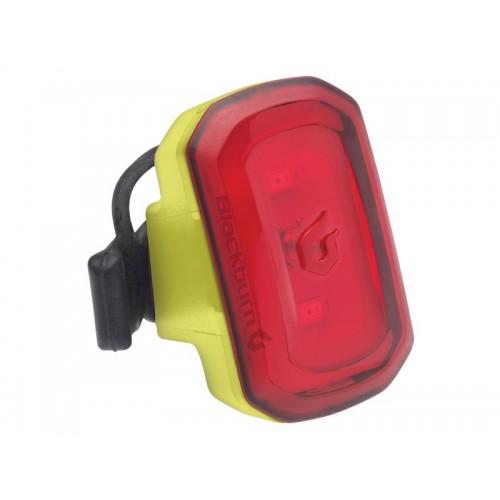 Lampka tylna BLACKBURN CLICK USB 20 lumenów żółta (DWZ)