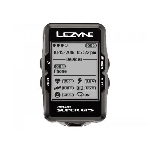 Licznik rowerowy LEZYNE Super GPS (DWZ)