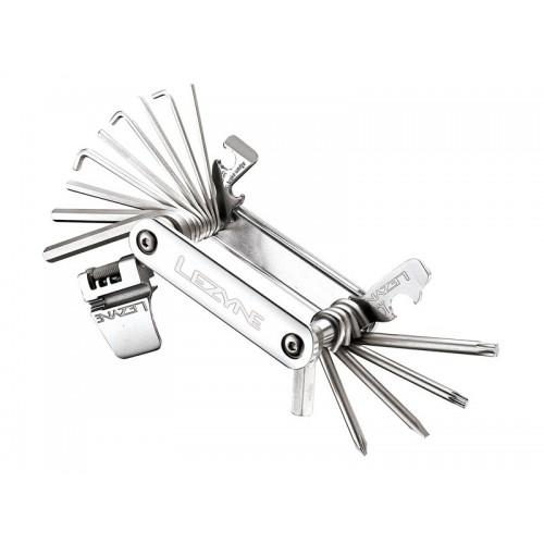 Kluczyk podręczny LEZYNE BLOX-23, 23 klucze srebrny (NEW)