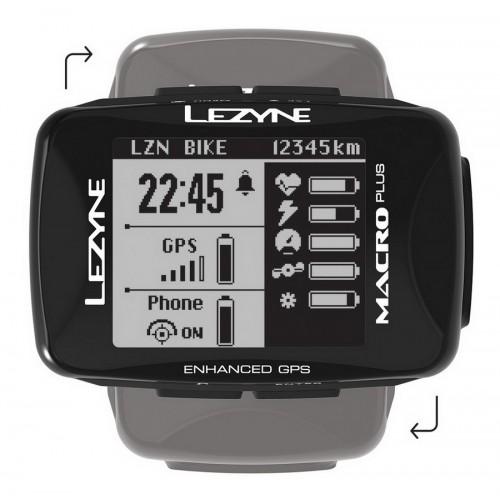 Licznik rowerowy LEZYNE MACRO PLUS GPS (NEW)