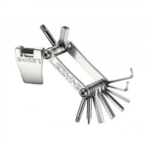 Kluczyk podręczny LEZYNE SV-11, 11 kluczy srebrny (NEW)