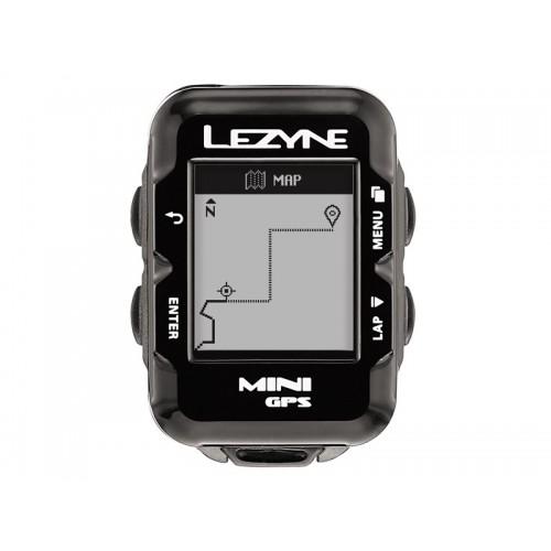 Licznik rowerowy LEZYNE Mini GPS HRSC Loaded (w zestawie opaska na serce + czujnik prędkości/kadencji) (DWZ)