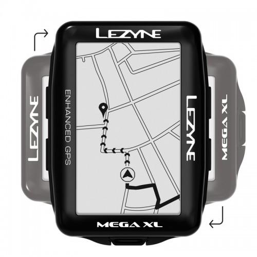 Licznik rowerowy LEZYNE MEGA XL GPS (NEW)