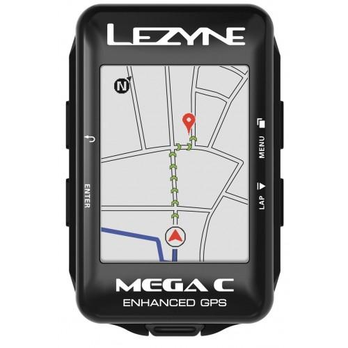 Licznik rowerowy LEZYNE MEGA C GPS (NEW)