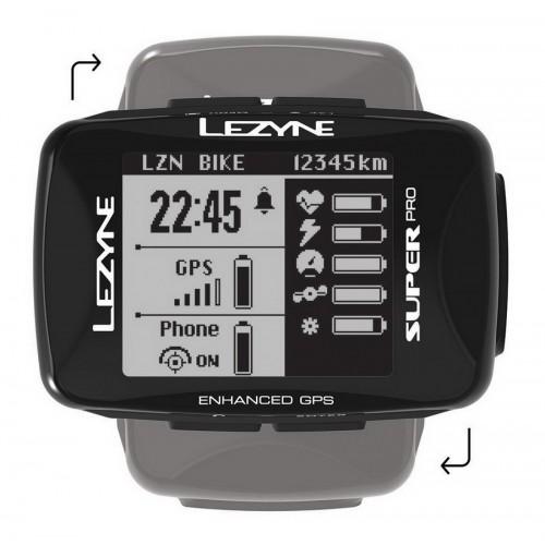 Licznik rowerowy LEZYNE SUPER PRO GPS (NEW)
