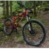 Rower Enduro 160mm 27.5 cali Zumbi F11 czerwony / L BOS Deville