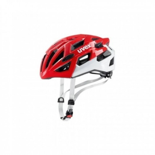 Kask uvex race 7 red white
