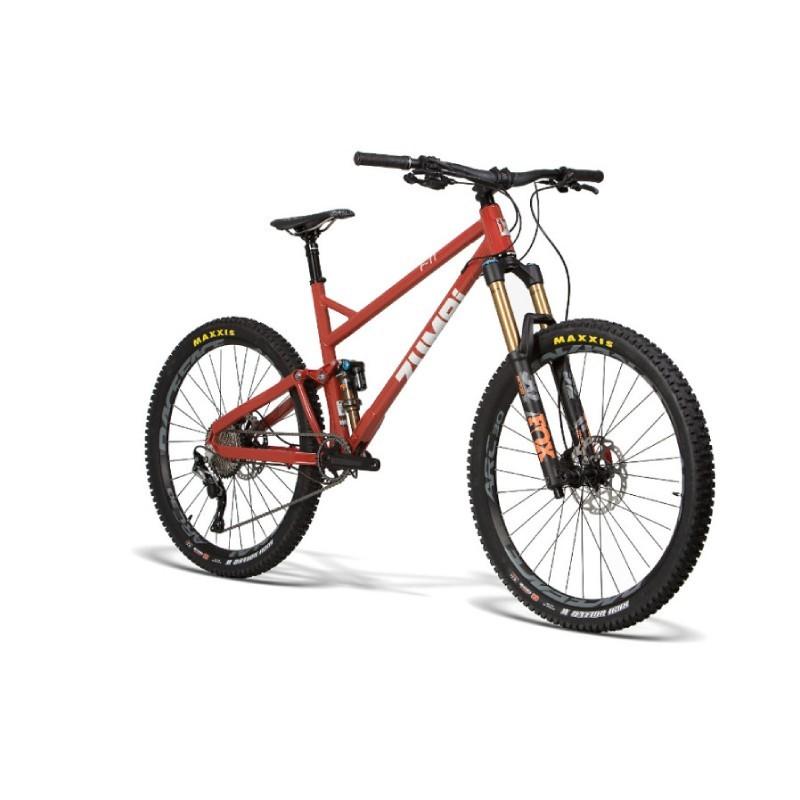 Rower Enduro 160mm 27.5 cali Zumbi F11 czerwony L