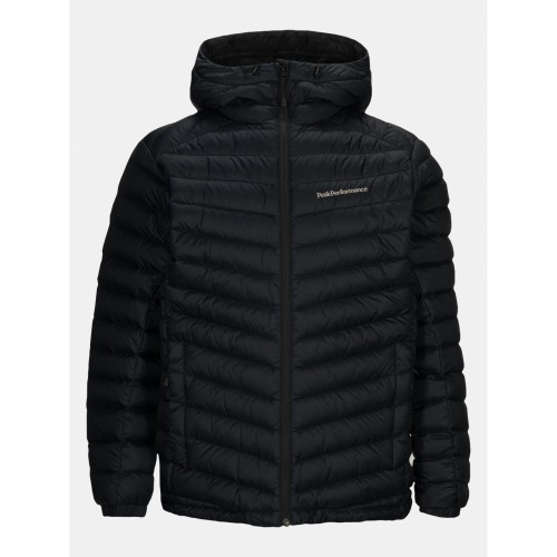 KURTKA puchowa PEAK PERFORMANCE FROST DOWN HOOD JACKET black