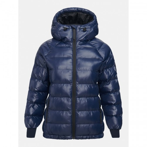 KURTKA PEAK PERFORMANCE W TOMIC PUFFER JKT BLUE