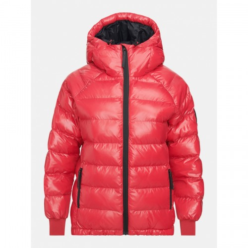 KURTKA PEAK PERFORMANCE W TOMIC PUFFER JKT RED