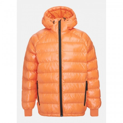 KURTKA puchowa PEAK PERFORMANCE M TOMIC JACKET ORANGE