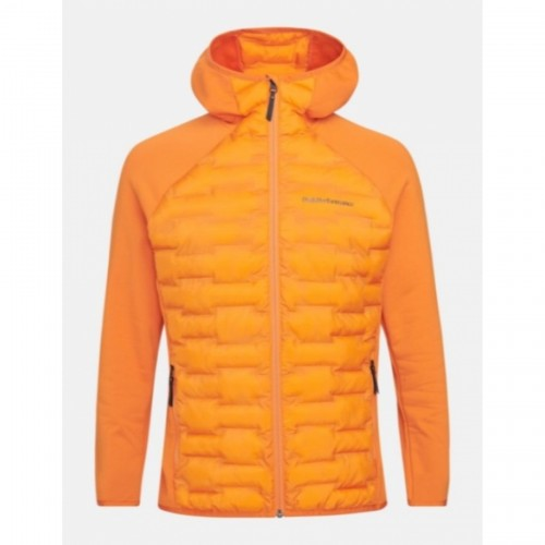 KURTKA PEAK PERFORMANCE M ARGON HYBRID HOOD JKT ORANGE