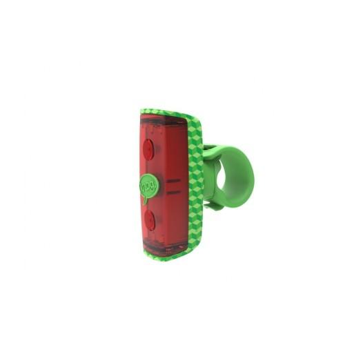 Lampa Knog Pop R tył zielona