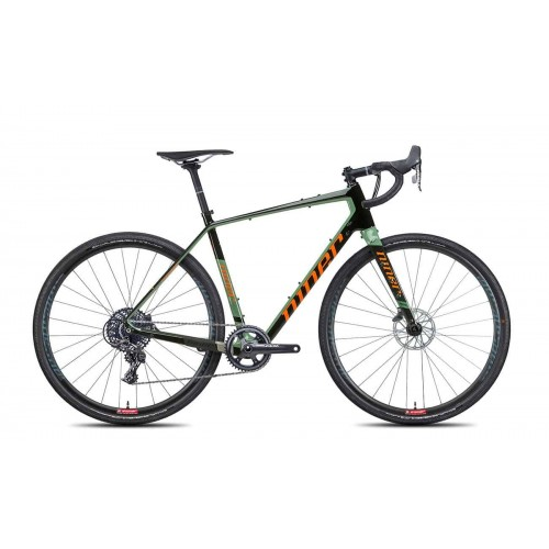 Rower Niner RLT 9 RDO – 2 Star Apex 1 2021 Olive Green-Orange