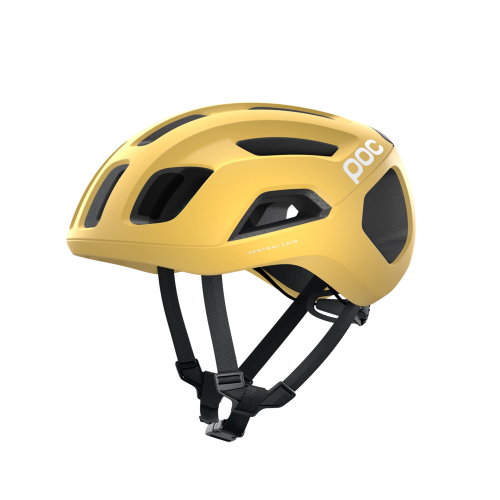 KASK rowerowy POC VENTRAL SPIN Sulfur Yellow Matt