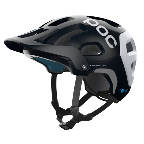 KASK rowerowy POC TECTAL RACE SPIN URANIUM BLACK/HYDROGEN WHITE