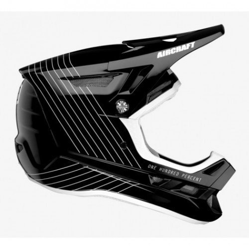 Kask DH full face 100% AIRCRAFT COMPOSITE Helmet Silo