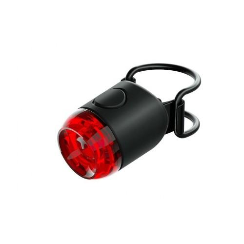 Lampka XC rowerowa Knog Plug tył czarny