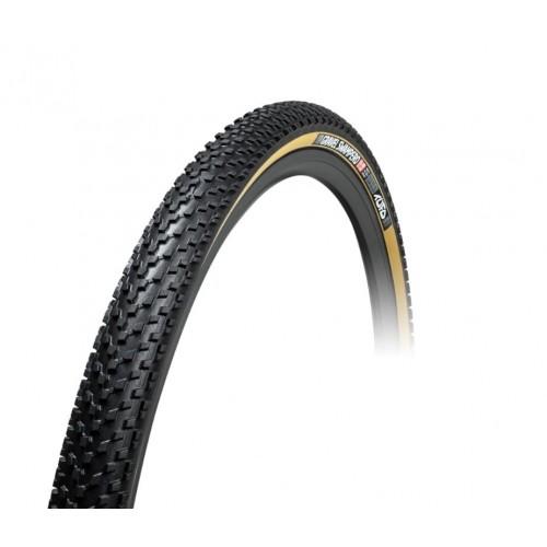 Opona Tufo Gravel Swampero TR 40-622 (700x40C) czarny/beżowy