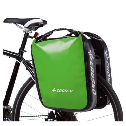 Crosso Sakwy rowerowe zestaw na tył / przód DRY SMALL 30l