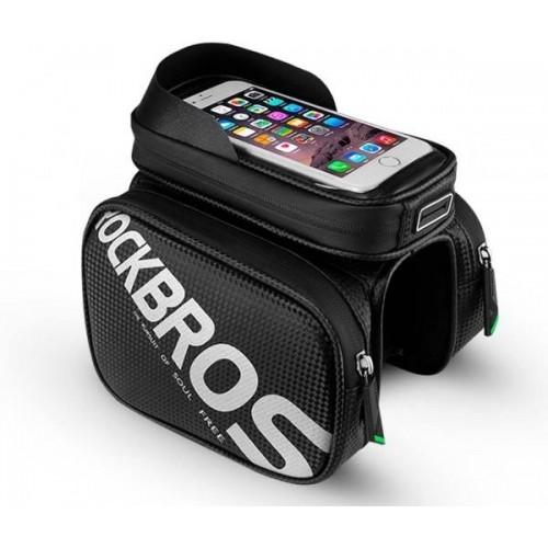 Torba rowerowa na telefon 5,8 + sakwy boczne, etui na smartfon