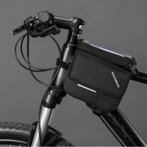 Sakwa rowerowa Rockbros na ramę rowerową, dla telefonów o przekątnej do 6,2 cala